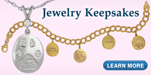 Learn about our unique Jewelry Keepsake products
